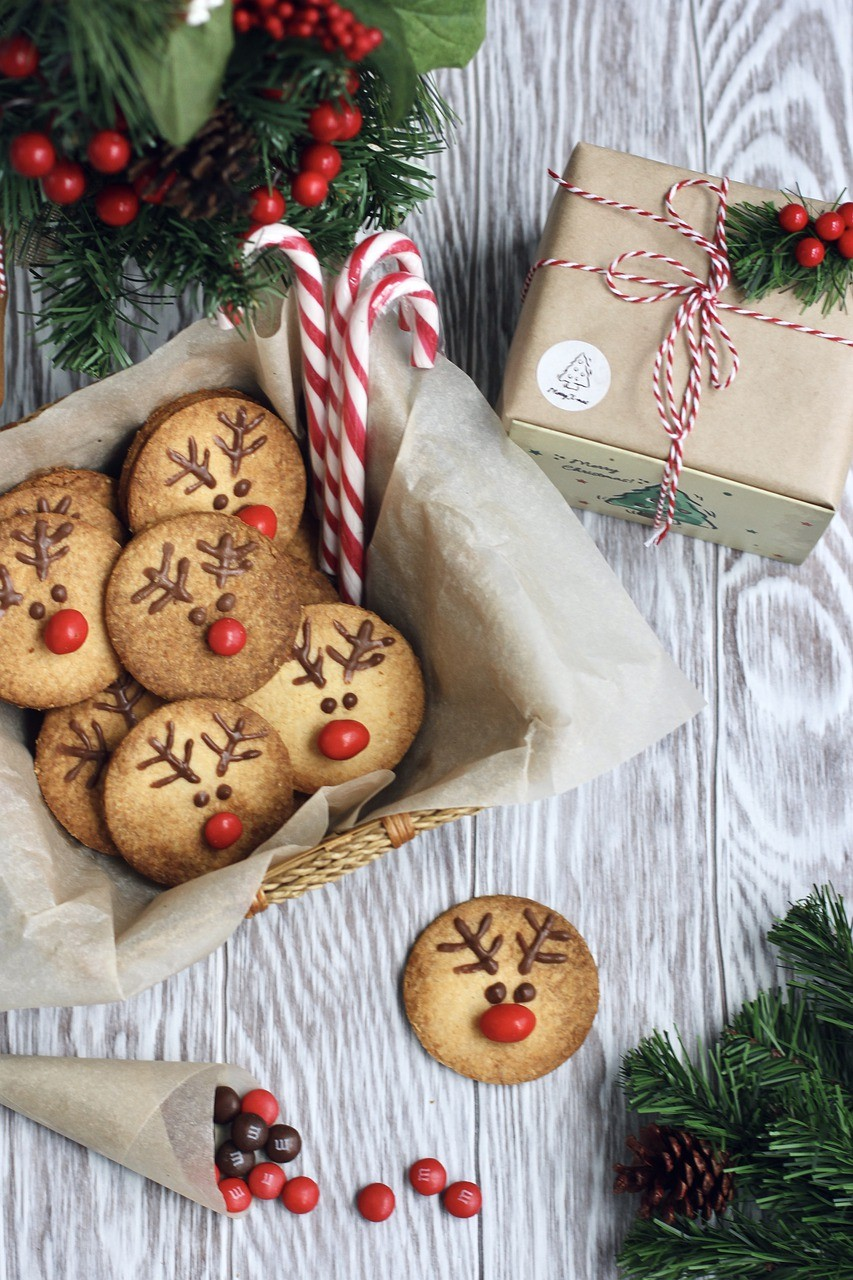 cookies, christmas, candy